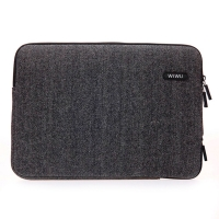 "Сумка-карман для MacBook Pro 15"" Wiwu London Sleeve Чёрная (Black)"