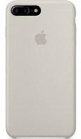 Чехол для Apple iPhone 7 Plus / 8 Plus Silicone Case - Pebble OEM